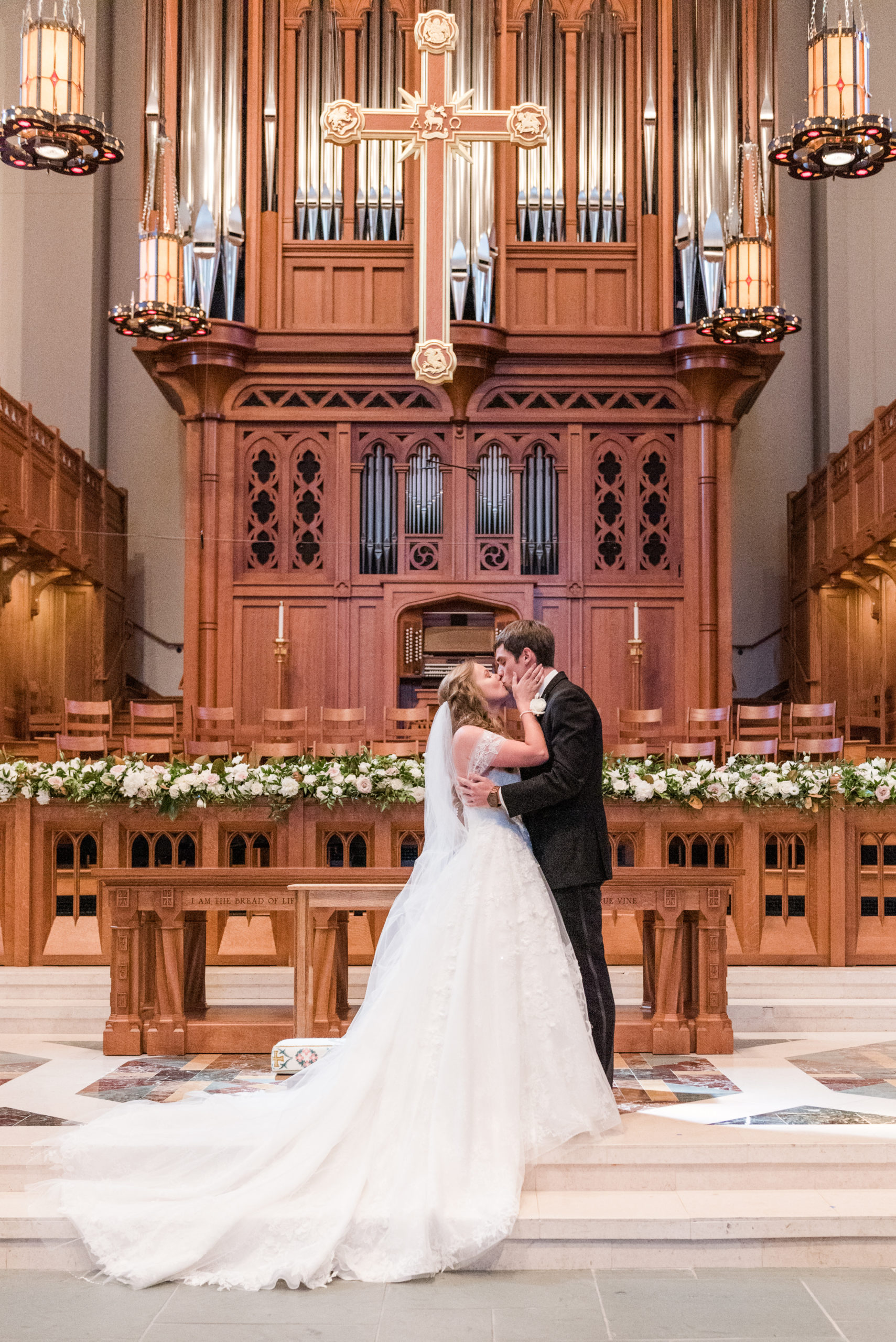 Summer Wedding at Ruby and Covenant Presbyterian Church in Nashville, Tennessee by Sweet Williams Photography, a wedding and portrait photographer.